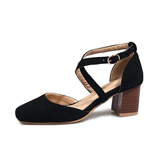 Sandales Femme Compensées Femme Noir Sandales BalaMasa Sandales Compensées Noir Noir BalaMasa Compensées Femme BalaMasa T6qRAf