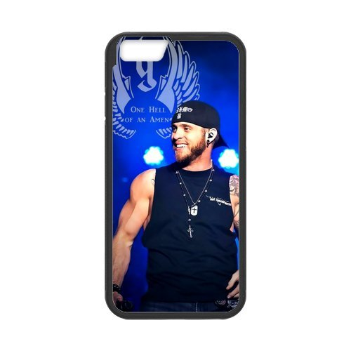 """Fayruz - iPhone 6 Rubber Cases, Brantley Gilbert Hard Phone Cover for iPhone 6 4.7"""" F-i5G375"""