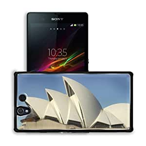 Architecture Australia Sydney Opera House Sony Xperia Z 5.0 C6603 C6602 Snap Cover Premium Aluminium Design Back Plate Case Customized Made to Order Support Ready 5 4/8 inch (140mm) x 2 7/8 inch (73mm) x 7/16 inch (11mm) MSD Sony Xperia Z cover Profession