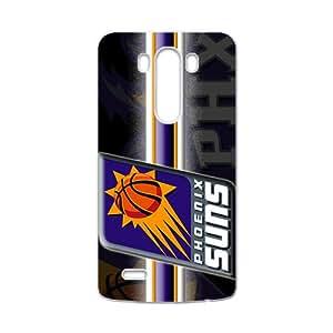 Phoenix Suns NBA White Phone Case for LG G3 Case