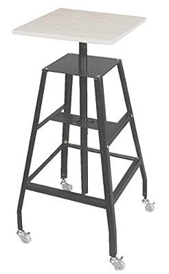 Jack Richeson Adjustable Economy Steel Heavy Duty Floor Sculpture Pottery Stand