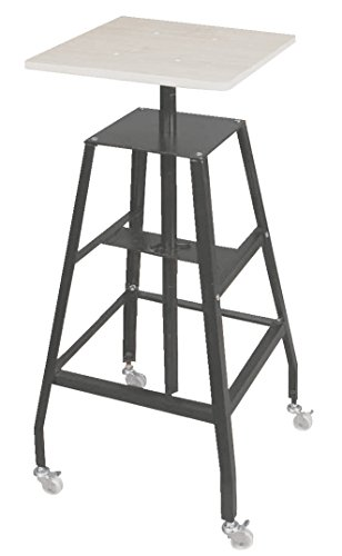 Floor Sculpture - Jack Richeson Adjustable Economy Steel Heavy Duty Floor Sculpture Pottery Stand