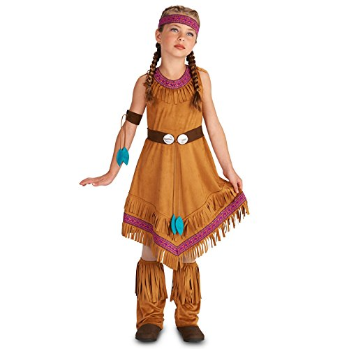 Native Princess Girl Child Costume M (Child Indian Princess Halloween Costume)