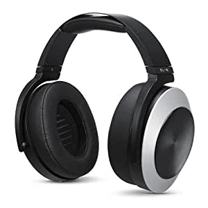 AUDEZE EL-8 Titanium Magnetic Planar Closed-Back Headphones with Integrated Apple Cipher Cable and Built-in Mic