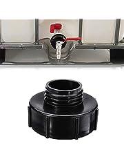 """Soekodu IBC Watertank S100 x 8 100mm naar S60 x 6 60mm IBC Adapter DN80 3 """"Grove Draad om DN50 2"""" Grove Draad voor regenwater Tank Valve Adapter Connector Vaten Montage Onderdelen"""