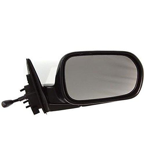 Koolzap For 00 01 02 Accord 4-Door Sedan Manual Remote Folding Mirror Right Passenger Side R