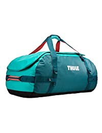 Thule Chasm 90L bolsa de lona Azul, Turquesa Nylon, Elastómero termoplástico (TPE) - Bolsas de lona (Azul, Turquesa, 90 L, Nylon, Elastómero termoplástico (TPE), Monótono, Bolsillo de malla, Bolsillo lateral)