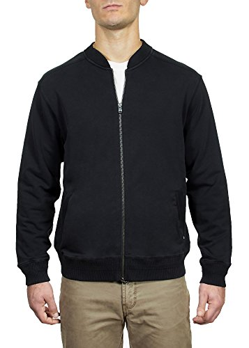 Zip Front French Terry Jacket - 1