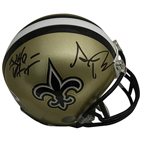 Sean Payton Autographed New Orleans Saints Signed Football Mini Helmet WHO DAT PSA DNA COA