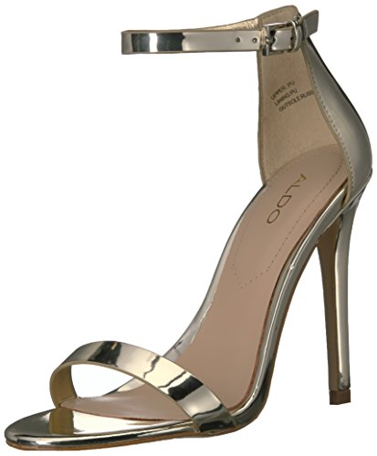 7 Aldo Women Dress Gold Polesia B US Sandal wnqHX68Frq