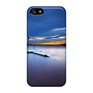Hot Quite Lake At Twilight First Grade Tpu Phone Case For Iphone 5/5s Case Cover