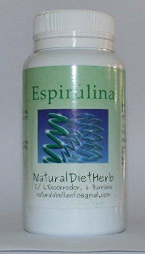 Espirulina 400 mgrs (0,71 mcg de B12 x comprimido) 200 Comprimidos