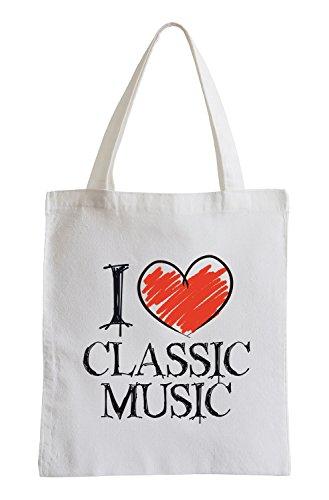 Amo Classic Music Fun sacchetto di iuta Las Compras En Línea De Descuento Descuento Salida Auténtico Muchos Estilos Ver La Venta En Línea yYTYAkpI2