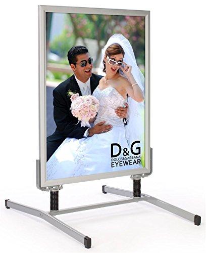Displays2go SS15A3040 30 x 40 Inches Sandwich Board for Sidewalks,