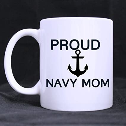 evplkigir new yearchristmas navy mommothers gift humorous saying proud navy mom tea