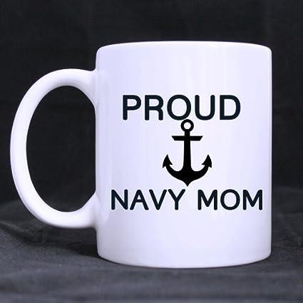 evplkigir new yearchristmas navy mommothers gift humorous saying proud navy mom tea