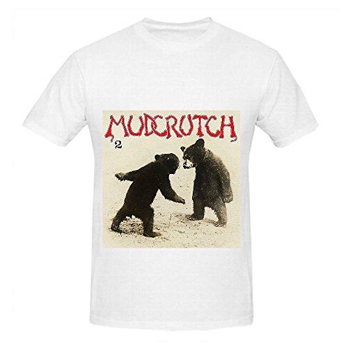 2 Mudcrutch Mens Crew Neck Shirts Customized White