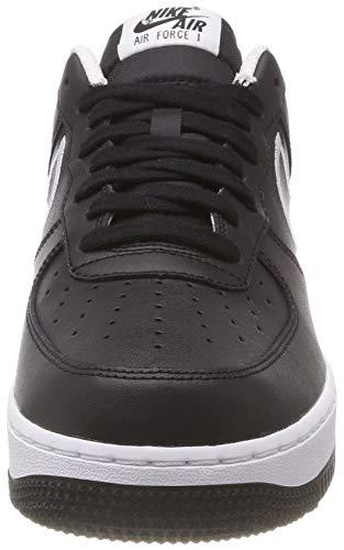 Black White 's 1 Fitness Men 001 Shoes Black '07 Air Lthr NIKE Force w1PqFcwz