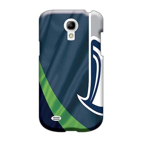 Price comparison product image Bumper Hard Cell-phone Cases For Samsung Galaxy S4 Mini With Customized Colorful Seattle Seahawks Pictures