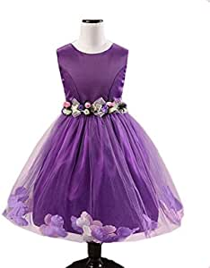 Dress For Girls - Purple Color