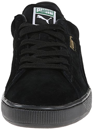Puma Suede Classic+ Iced Mens Grey Purple Suede Lace Up Trainers Shoes Black/Gold Foil PD4QADI