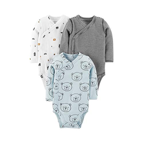 Carter's Baby Boys' 3-Pack Side-Snap Bodysuits (9 Months, ()