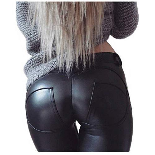 Faux Leather PU Elastic Shaping ...