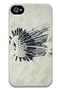 Online Designs Dandelion Black and White PC Hard new For Case Iphone 5/5S Cover