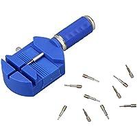 KMDECYY KMBT17001 - Kit de herramientas de reparación de eslabones para correa de reloj, Azul