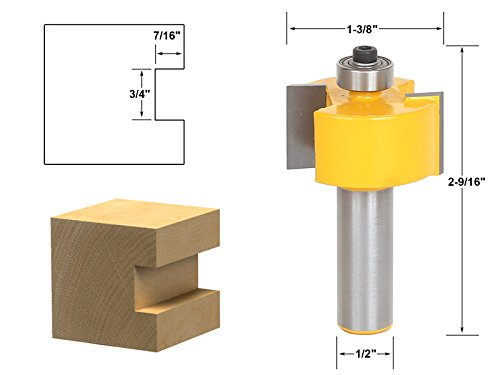 Yonico 14901 3/4-Inch Slot Cutter Router Bit