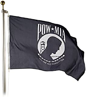 product image for Eder Flag - POW MIA Flag - Endura-Nylon - 12 Inches by 18 Inches