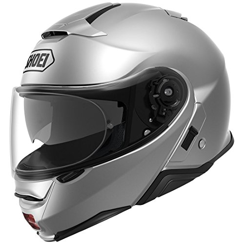 Shoei Neotec II Modular Motorcycle Helmet Light Silver X-Large (More Color and Size Options) -  Shoei Helmets, MOT-77-11905