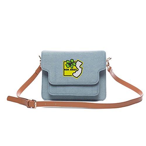 Jersey Shoulder Handbag - 3