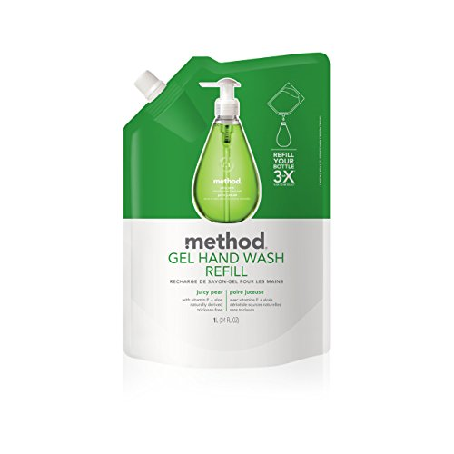 (Method Gel Hand Soap Refill, Juicy Pear, 34 Ounce)