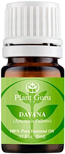Davana Essential Oil 5 ml. 100% Pure, Undiluted, Therapeutic Grade.