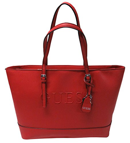 Guess Women's Peak Tote Red by GUESS