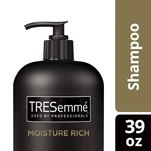 TRESemmé Shampoo with Pump, Moisture Rich, 39 oz (Tresemme Shampoo Best Price)