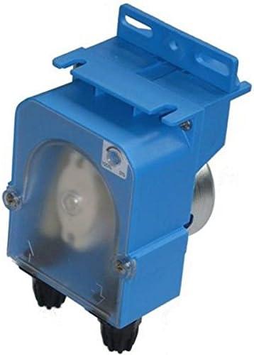 Bomba dosificadora peristáltica con caudal fijo para dosificación temporizada abrillantadora modelo MP3-T – 1,0 l/h 230 Vac, tubo membrana de silicona
