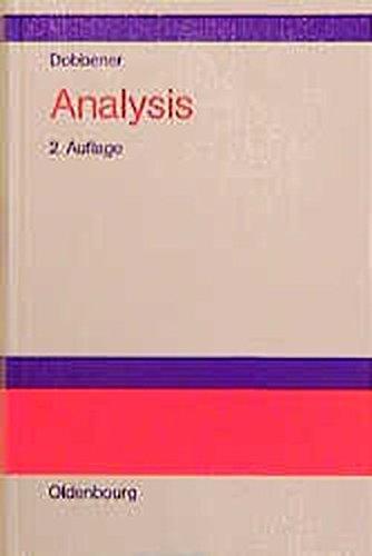 Analysis: Studienbuch für Ökonomen