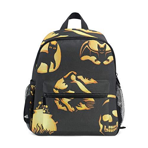 Halloween Lanterns School Backpack For Boys Kids Primary School Bags Children Backpacks -