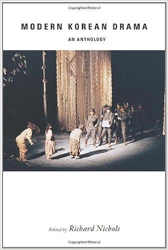Amazon com: Modern Korean Drama: An Anthology (9780231149471