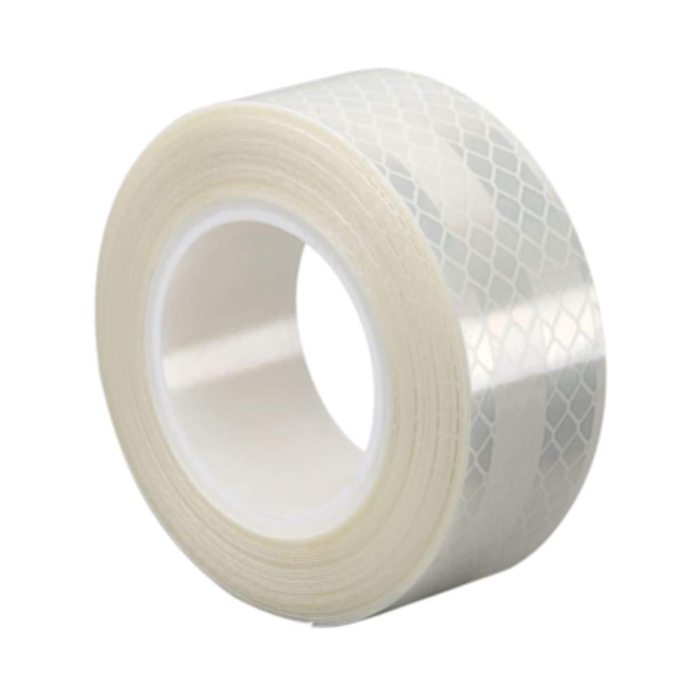 Reflective Sheeting; White; 6.8 mil - 2in x 50yd Roll