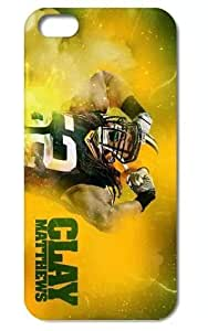 """The NFL stars Clay Matthews from Green Bay Packers team custom design case cover for iPhone6 Plus 5.5"""""""