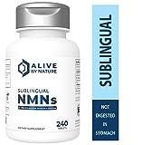 Alivebynature Sublingual NMN 125mg x 240 Tablets Nicotinamide Mononucleotide