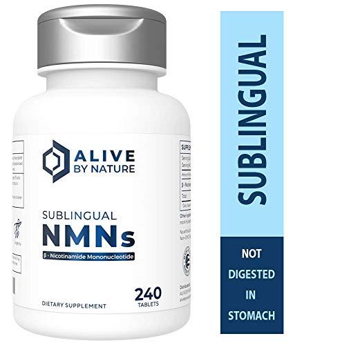 Alivebynature Sublingual NMN 125mg x 240 Tablets Nicotinamide Mononucleotide by alivebynature (Image #8)