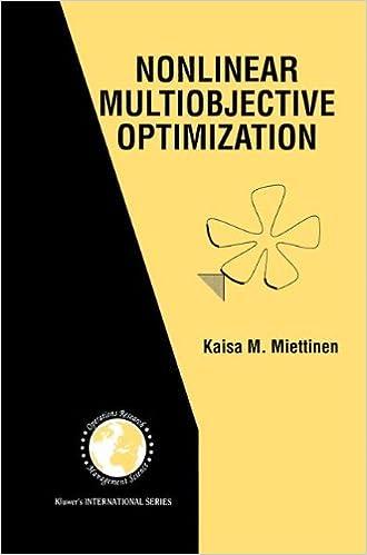 Nonlinear multiobjective optimization international series in nonlinear multiobjective optimization international series in operations research management science kaisa miettinen 9780792382782 amazon books fandeluxe Choice Image