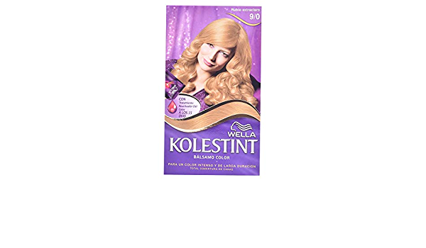 KOLESTINT TINTE N. 9/0 RUB.EXTRA: Amazon.es: Belleza