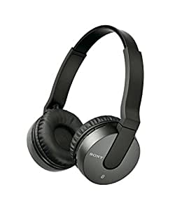 Sony MDRZX550BN Bluetooth and Noise Cancelling Headset (Black)