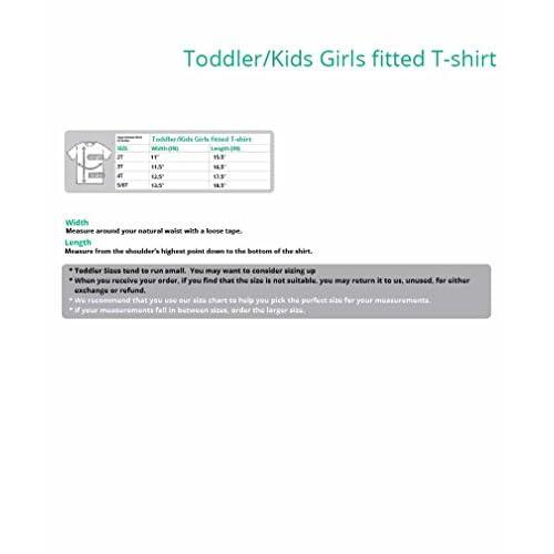 Future Rock Star Cool Children/'s Gift Toddler//Kids Girls/' Fitted T-Shirt Rock