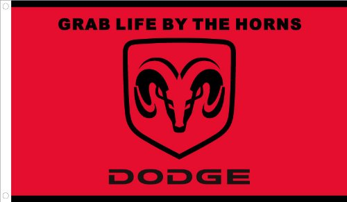 Flag Ram Dodge - NEOPlex Dodge Ram Traditional Flag